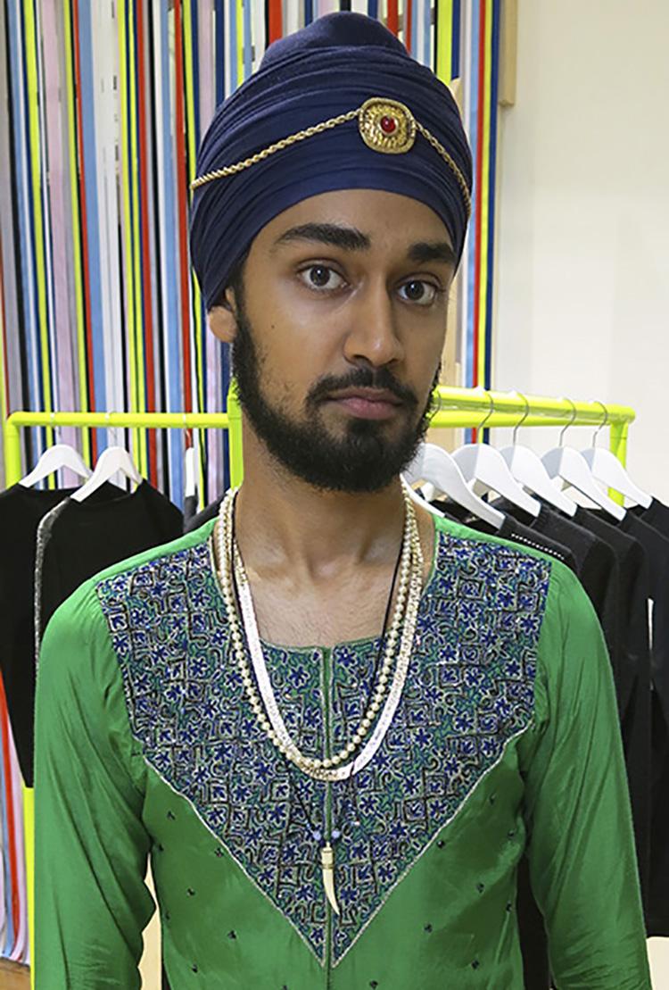 Stylish turban