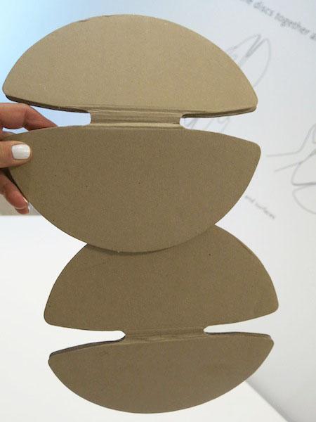 Cardboard discs