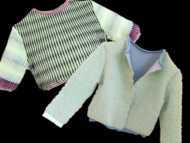 Rachel Lentin knitwear copyright Visuology