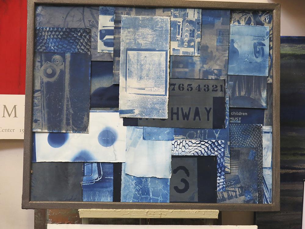 Roger Miles cyanotype prints