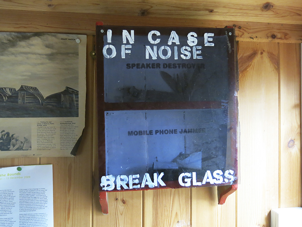 Roger Miles in case of noise