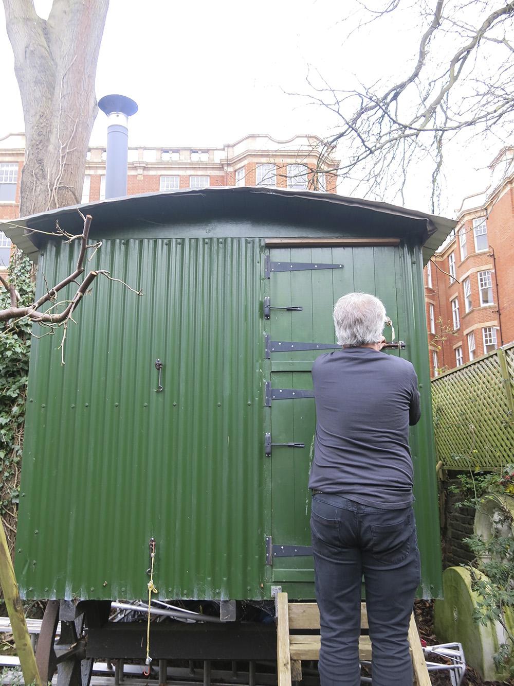 Roger Miles shepherd's hut 1