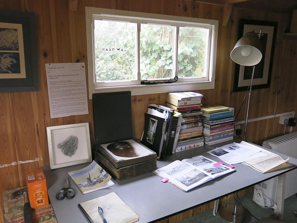 Roger Miles shepherd's hut
