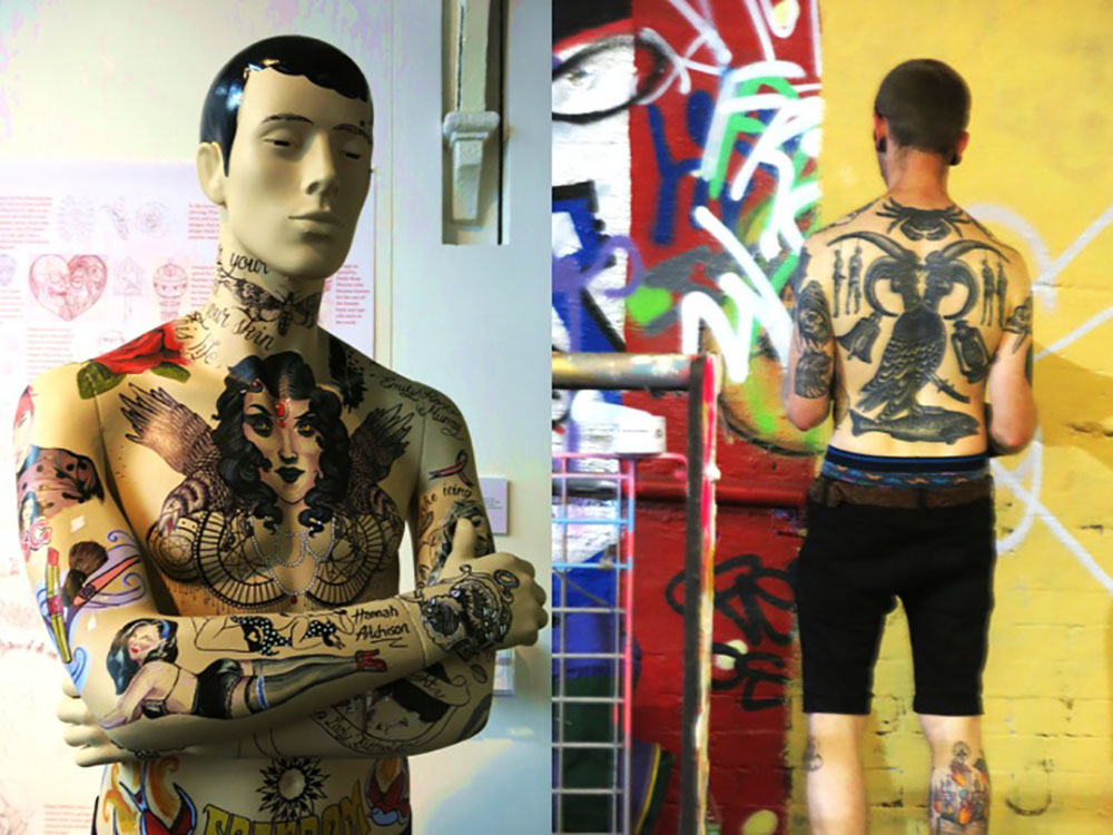 Freak out the body as a canvas visuology for Association of professional tattoo artists