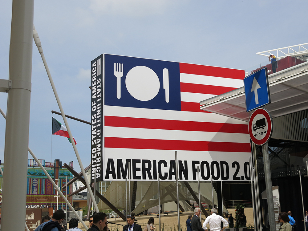 American Food 2.0 Milan Expo