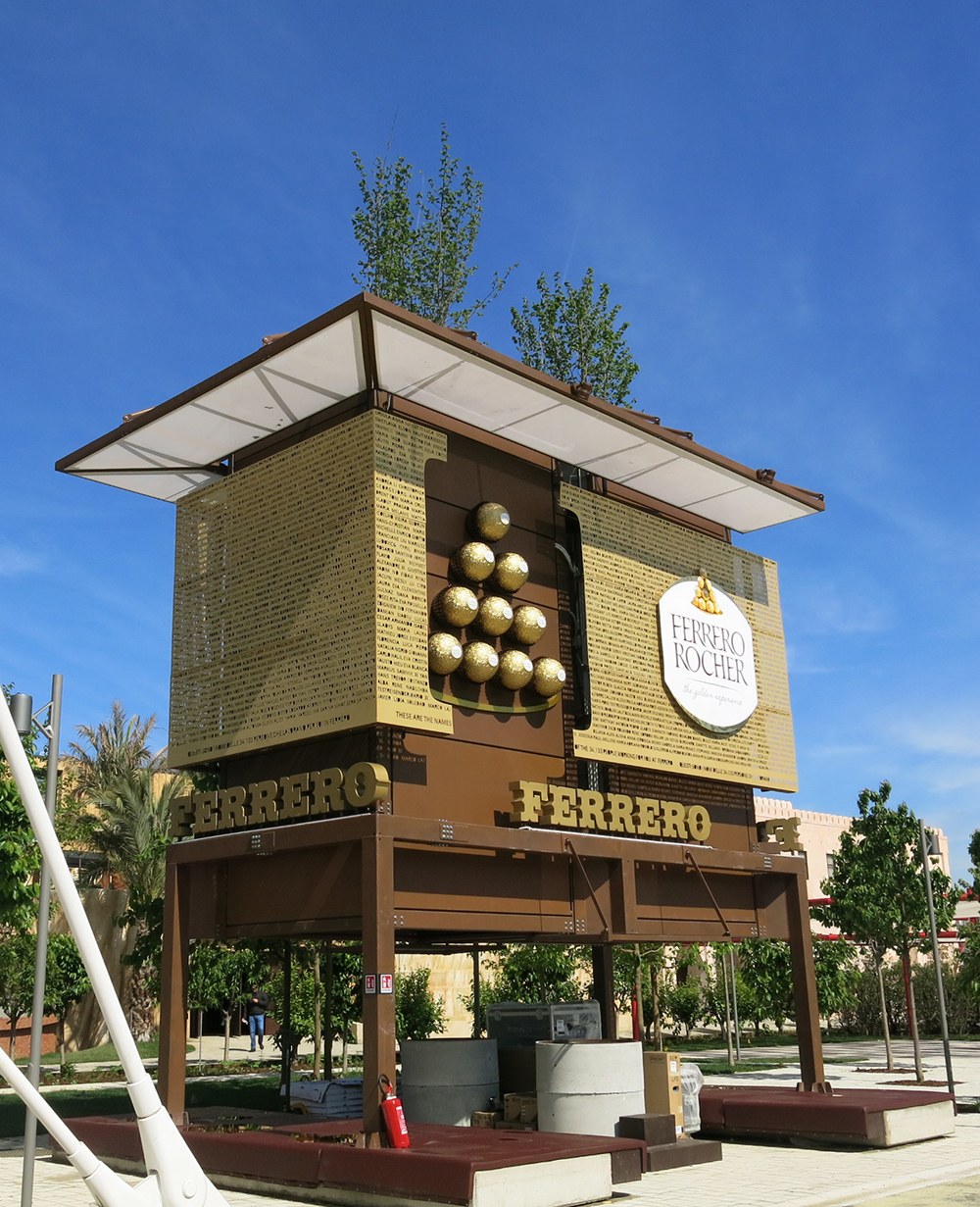 Ferrero Rocher at Milan Expo
