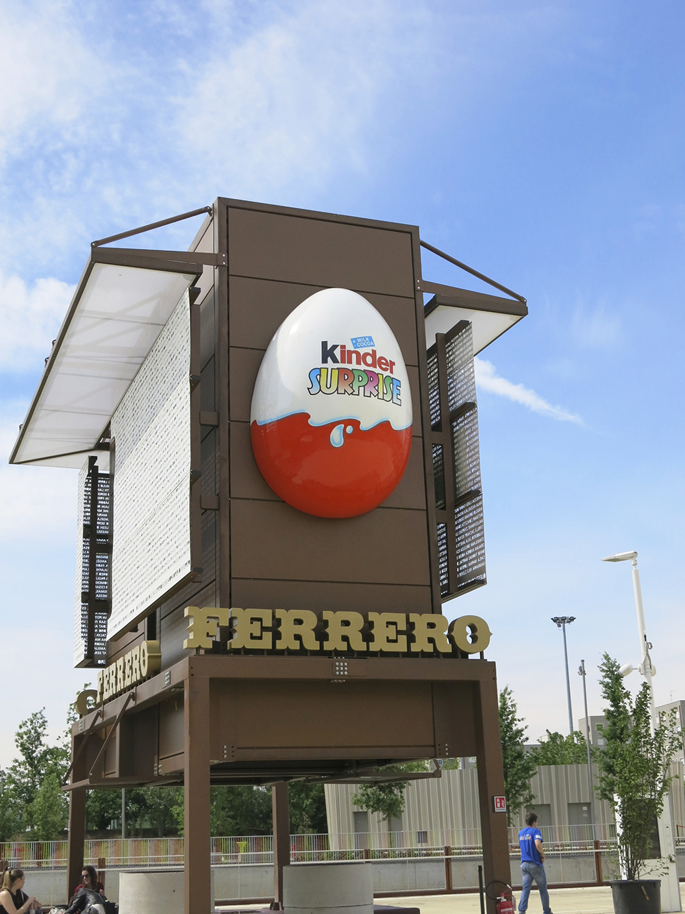 Kinder Surprise Milan Expo