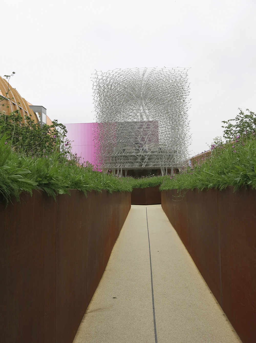 UK pavilion Milan Expo
