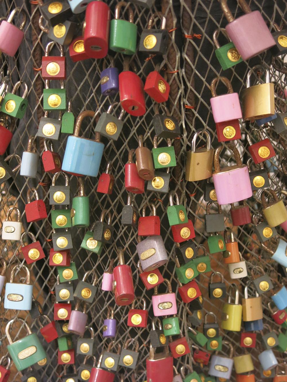Sacred padlocks