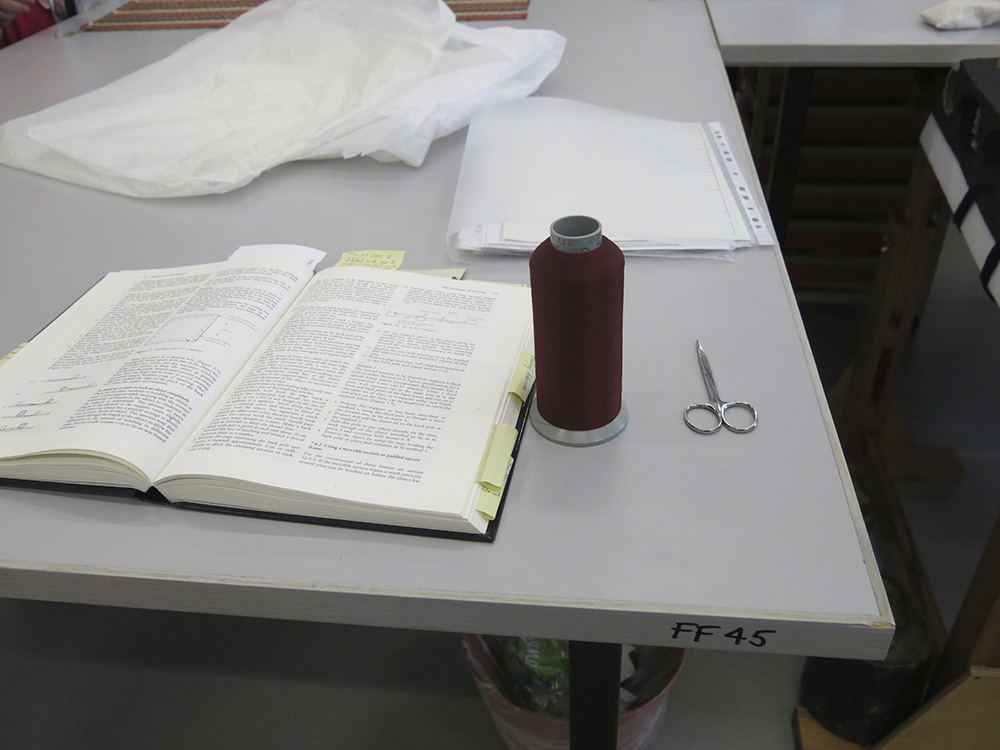 Tools of textile conservation