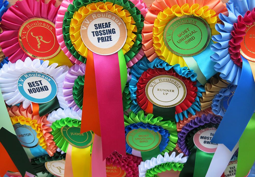 VV Rouleaux prizes