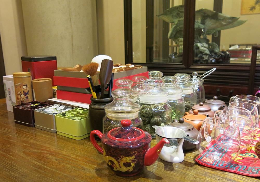Chinese teas and tea making equipment