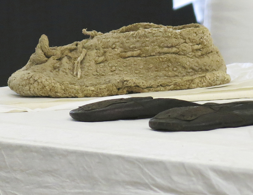Ancient Egyptian shoe design