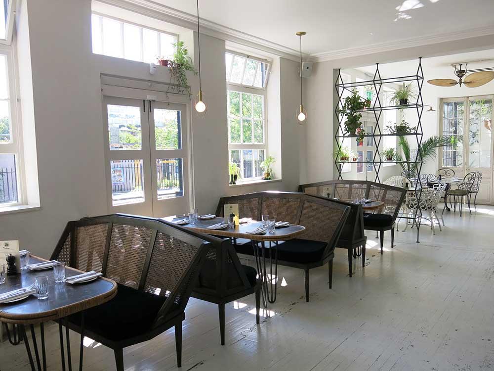 Bourne and Hollingsworth Buildings Restaurant
