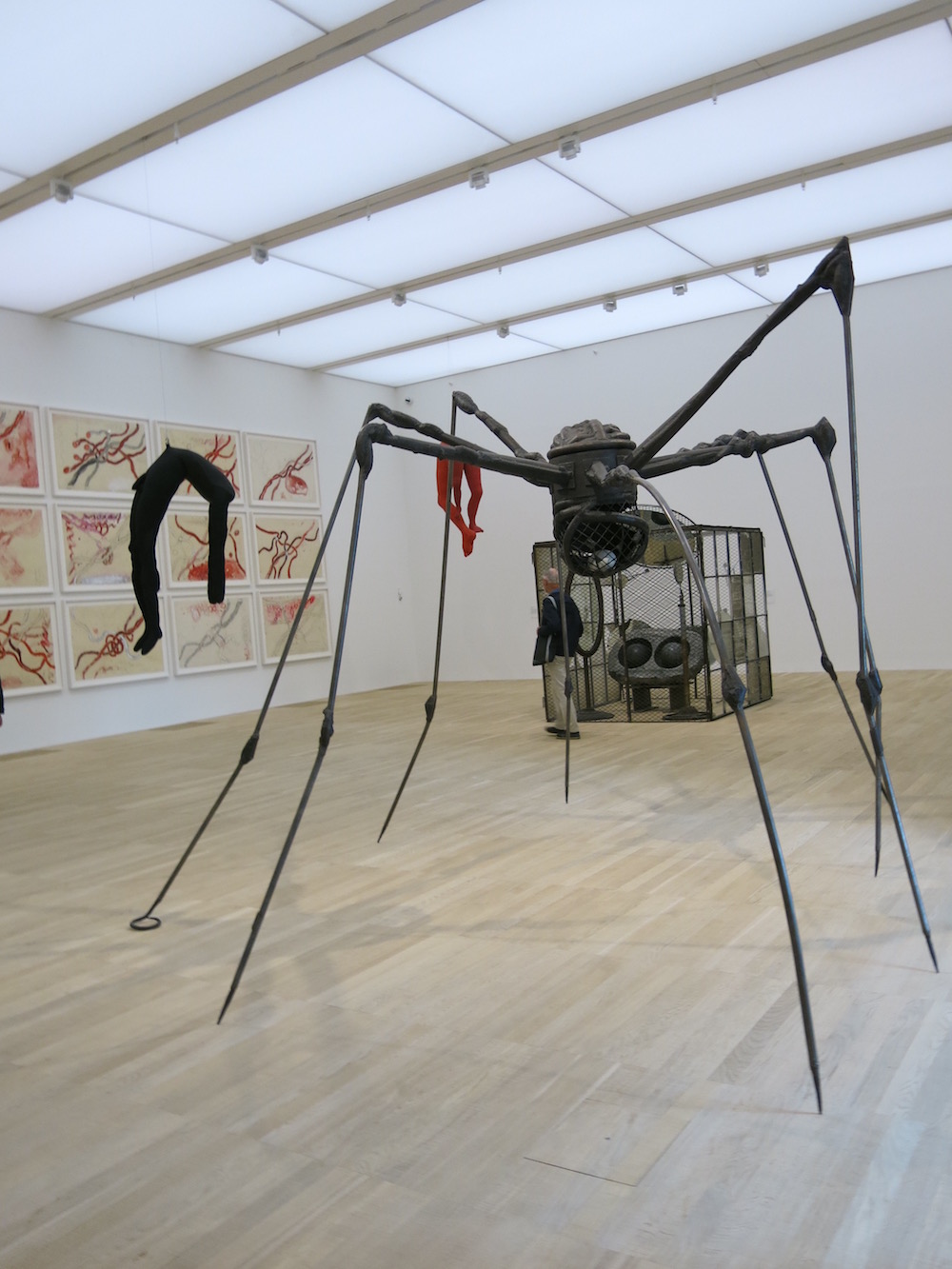 Louise Bourgeois at the Switch House
