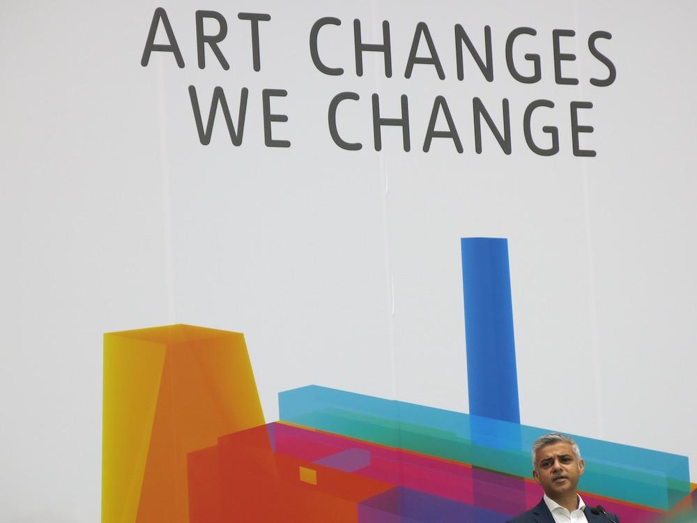 Sadiq Khan New Tate Modern