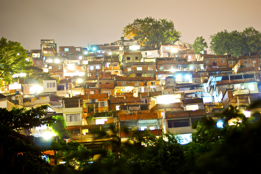 Favela by night