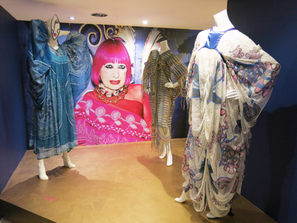 Zandra Rhodes 50 Years of Fabulous at Fashion and Textiles Museum